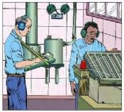 Đảm bảo tiếng ồn không gây ảnh hưởng đến giao tiếp và thính giác